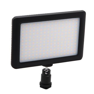 12W 192 LED Studio Video Continuous Light Lamp For Camera DV Camcorder Blac X1F7