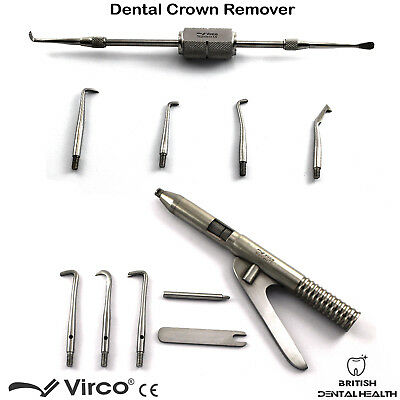 Morrel Crown Remover and Automatic Crown and Bridges Removal Restorative Tools