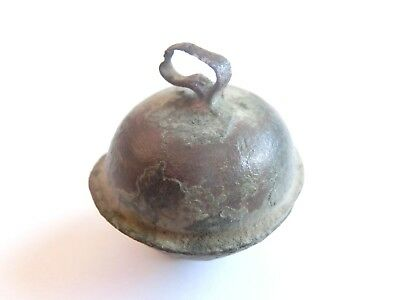 Ancient CELTIC Bronze BELL Amulet/Talisman - Real Sound of past > Warriors relic