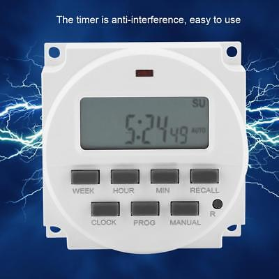 12V Automatic LCD Digital Electric Programmable Relay Control Timer Switch AU