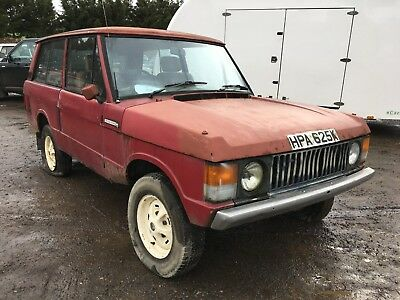 1971 Range Rover Classic Suffix A Restoration Project with Overdrive