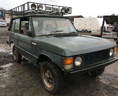 1972 Range Rover Classic Suffix A Restoration Project - PROVISIONALLY SOLD