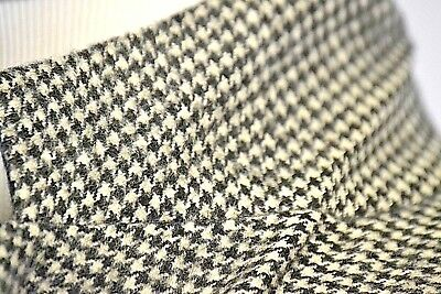 Brooks Brothers 1818 Mens Houndstooth Black White Camel Hair Blazer Jacket 42
