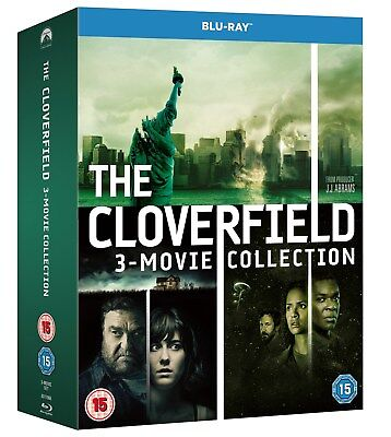 Cloverfield 1-3: The Collection (Box Set) [Blu-ray]