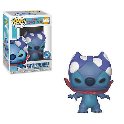 Funko Pop Disney Exclusive Superhero Stitch Pop In The Box Exclusive Lilo Stitch