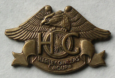 1983 Harley Owners Group Hog H.o.g. Chapter Member Eagle Pin