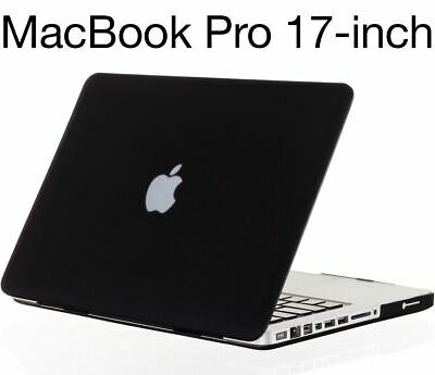 Rubberized Hard Case Cover for MacBook Pro 17 inch