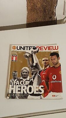 Manchester United v Manchester City programme FA Cup 2004 ***MINT CONDITION***