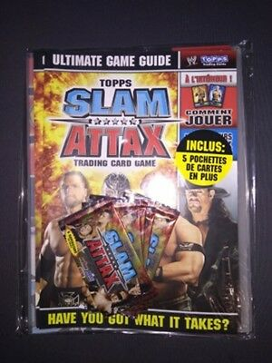 Starter Pack Slam Attax Trading Card Game 2008