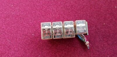 GPO Strowger Telephone Exchange miniature relays x 4