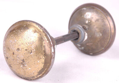 Vintage Metal Doorknob / Architectural Salvage-Distressed Rustic Antique-2.25""