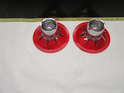 1964 Ford Galaxie 500 And Xl Tail Light Lens Pair New Nors