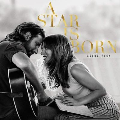 A Star Is Born (Soundtrack) (CD 2018) Featuring  Lady Gaga & Bradley Cooper