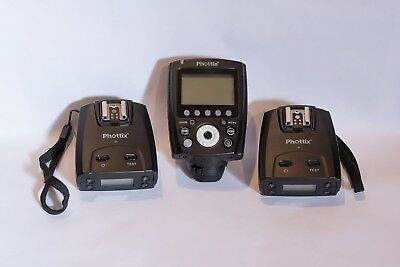 Phottix Odin II remote flash trigger set  for Canon