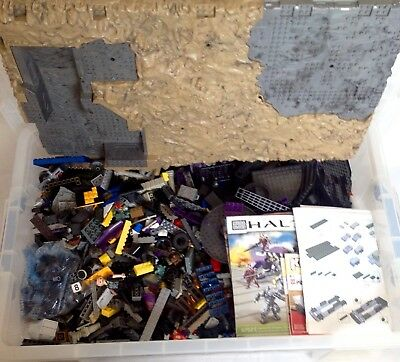 Mega Bloks Joblot Bundle 10kg Including Instructions, Halo, Kre-o Transformers