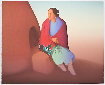 R.C. Gorman original signed/numbered lithograph Native American art