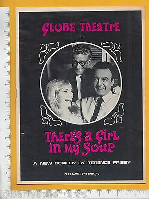 7951 There's A Girl In My Soup 1966 Globe Theatre program Jill Melford Tony Saga