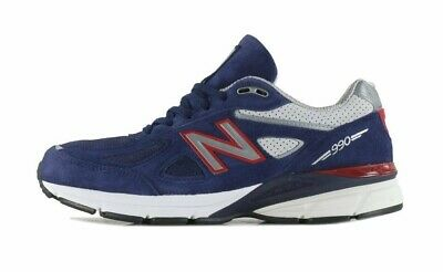san francisco 9d6f4 b18a6 NEW BALANCE 990V4 # M990BR4 Navy & Red Men SZ 8 - 12