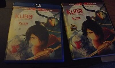 Kubo and the Two Strings Blu-ray2-Disc Set, Includes Digital Copy . slip cover