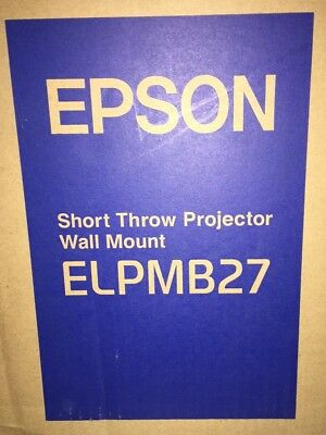 Epson ELPMB27 Wall Mount for Projector.
