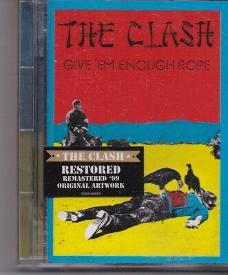 The Clash-Give Em Enough Rope minidisc Album