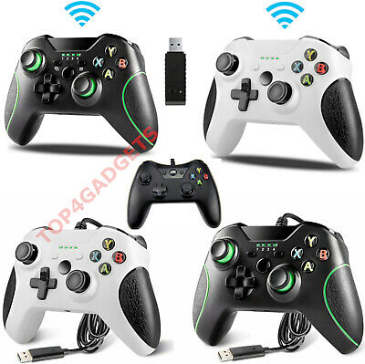 Wired Or Wireless Controllers For Microsoft Xbox One Black Or White Controller