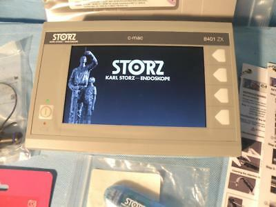 "STORZ 8401ZX C-MAC 7"" Monitor for CMAC video laryngoscopes / C-CAM w/accessories"