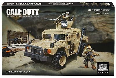 MEGA BLOKS Call of Duty, Halo sets + Barbie & Hello Kitty + First Builders