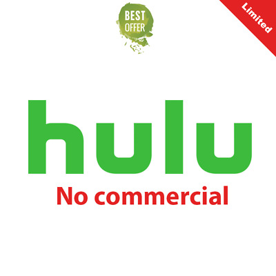 Hulu Premium Account No Commecials |LIFETIME Warranty | Fast Delivery🔥