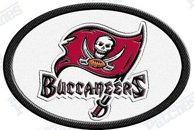 TAMPA BAY BUCCANEERS iron on  embroidered PATCH NFL FOOTBALL PATCHES