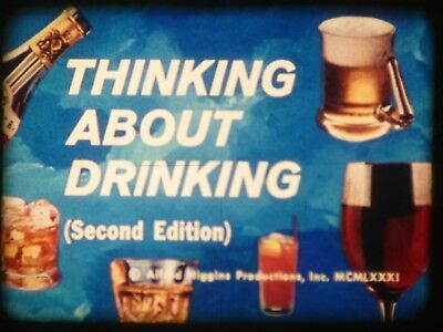 Thinking About Drinking 2nd Edition 1981 16mm short film Documentary