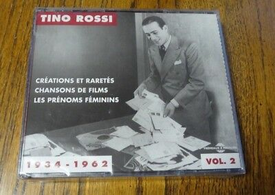 New Sealed Tino Rossi CD Vol 2! 3 Discs/16 Photos/Booklet! Nice Set! 1934-1962