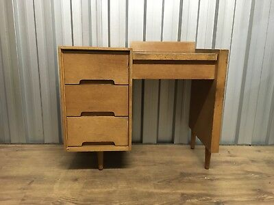 Stag Dressing Table By John & Sylvia Reid C-range Rare Piece Delivery Poss