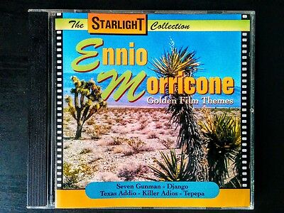 Ennio Morricone, Golden Film Themes, Compilation Soundtrack CD, Various Movies