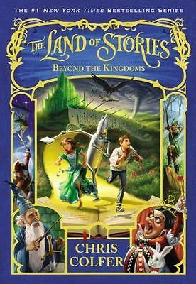 The Land of Stories: Beyond the Kingdoms 4 by Chris Colfer (2016, hardcover)