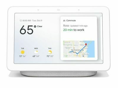 New Sealed Google Home  Hub with Google Assistant (GA00516-US) - Chalk Gray