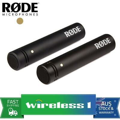 "Rode M5 Matched Pair M5MP 1/2"" Compact Condenser Microphones"