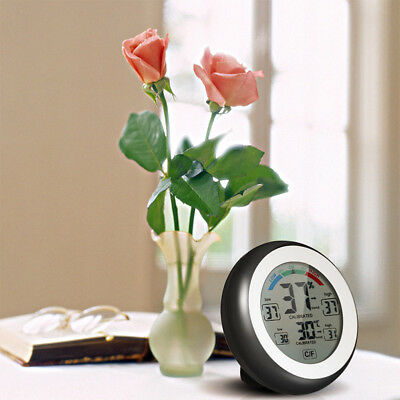 Digital Hygrometer Thermometer Temperature Humidity Meter Indoor LCD Display CHG
