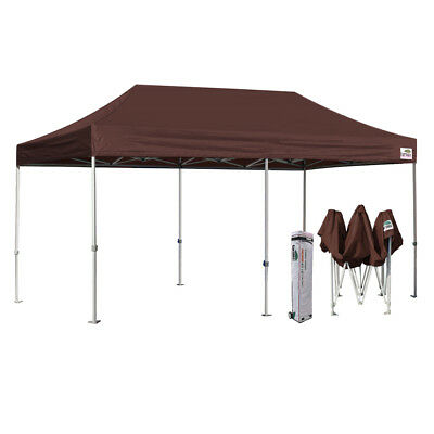 Heavy Duty 10X20 Brown Waterproof EZ Pop Up Canopy Outdoor Shelter Party Tent  sc 1 st  PicClick & HEAVY DUTY 10X20 Brown Waterproof EZ Pop Up Canopy Outdoor Shelter ...