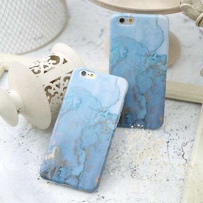 Granite Marble Hard Protective Shell Cover Skin Case For iPhone XS Max XR 8 Plus