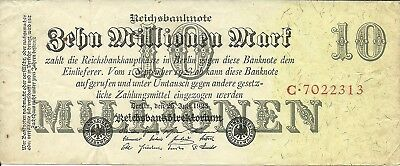 Germany , 10 Million Mark ,1923  , P 96