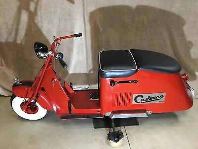 1947 Cushman Step-Thru Motor Scooter - Clear Title