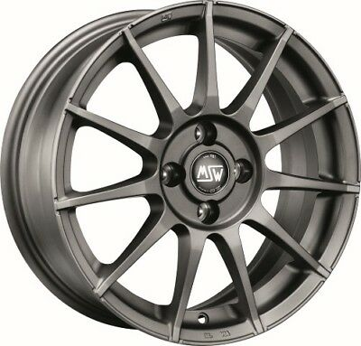 4 alloy rims  MSW 85 7x17 for FIAT BRAVO (182)