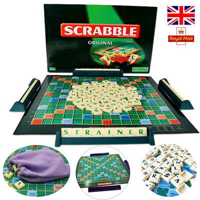 Scrabble Board Game Family Kids Adult Educational Toys Puzzle Game UK STOCK