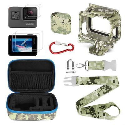 Camera Accessories Kits,Portable Action Camera Accessory Kit with Camouflag L5U7