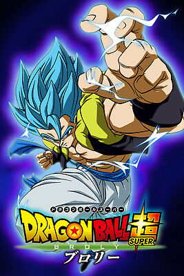 dragon ball super poster gogeta from