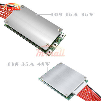 10S 16A 36V 13S 35A 48V BMS PCB PCM Lithium Battery Balance Protection Board