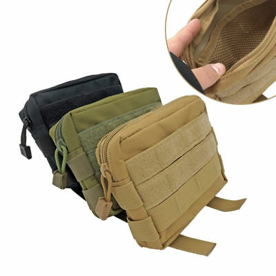 Tactical Molle Pouch EDC Multi-purpose Belt Waist Pack Bag Utility Phone Pocket