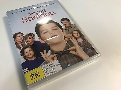 Young Sheldon: Season 1 (R4 DVD, 2018, 2-Disc Set) - FACTORY SEALED