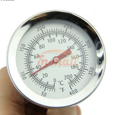 200°C Thermometer Oven/Grill Stainless Steel Cooking BBQ Probe Food Meat Gauge
